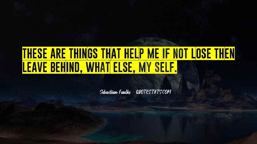 Sebastian Faulks Quotes #948213