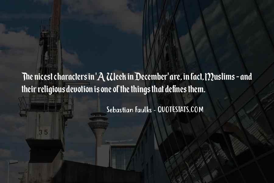 Sebastian Faulks Quotes #980050