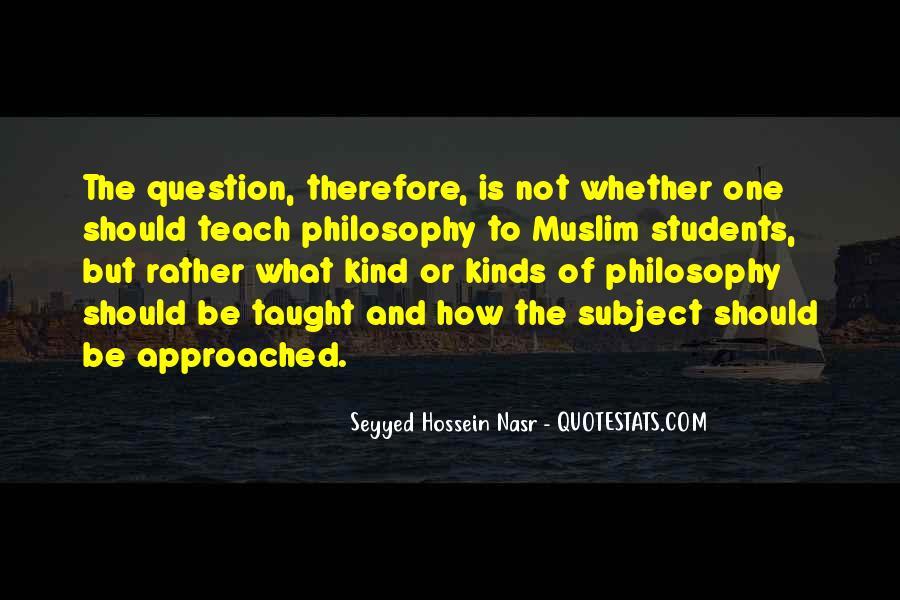 Seyyed Hossein Nasr Quotes #1196284