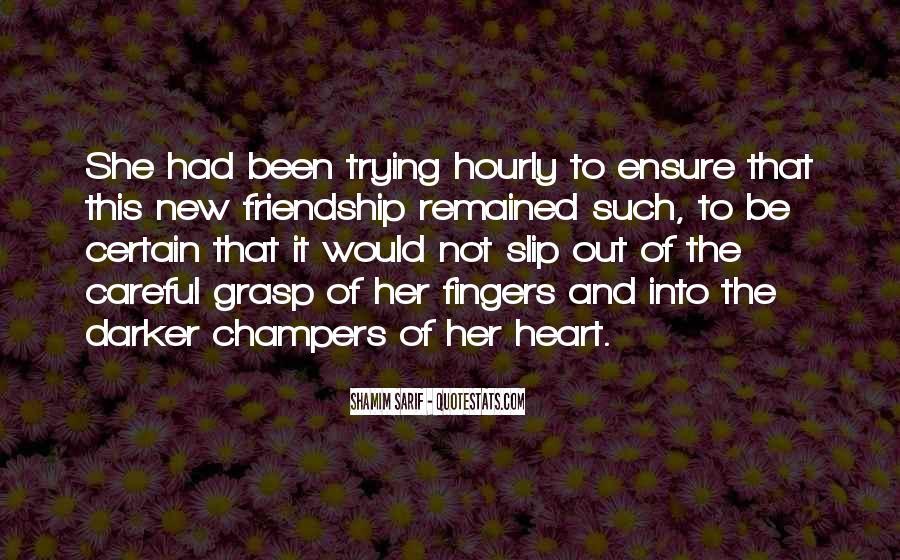 Shamim Sarif Quotes #1040466