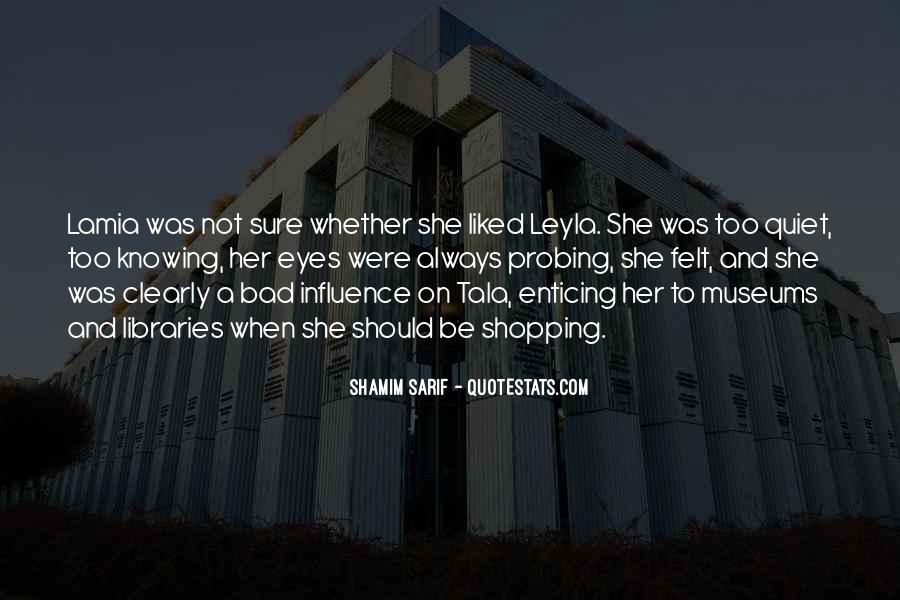 Shamim Sarif Quotes #410854