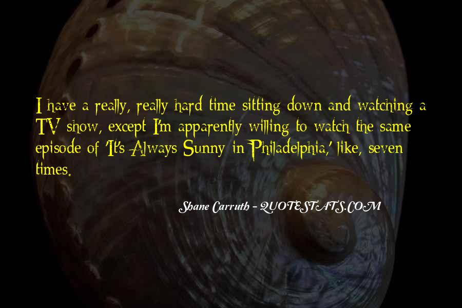 Shane Carruth Quotes #1206749