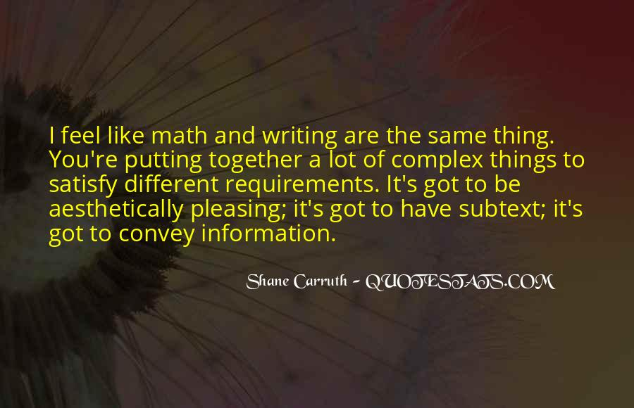 Shane Carruth Quotes #1695141