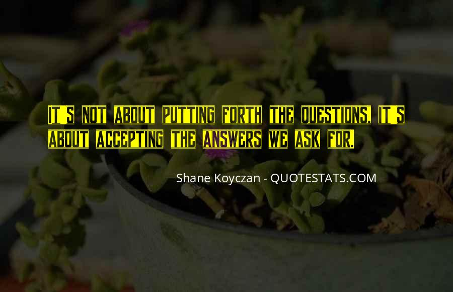 Shane Koyczan Quotes #76330