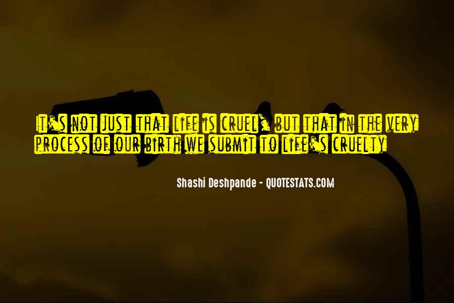 Shashi Deshpande Quotes #103289
