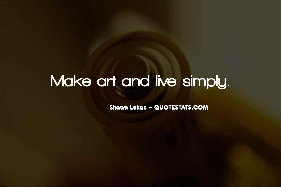Shawn Lukas Quotes #628142