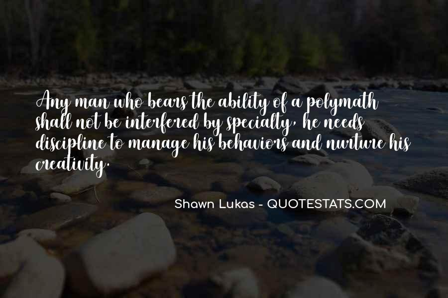 Shawn Lukas Quotes #80786