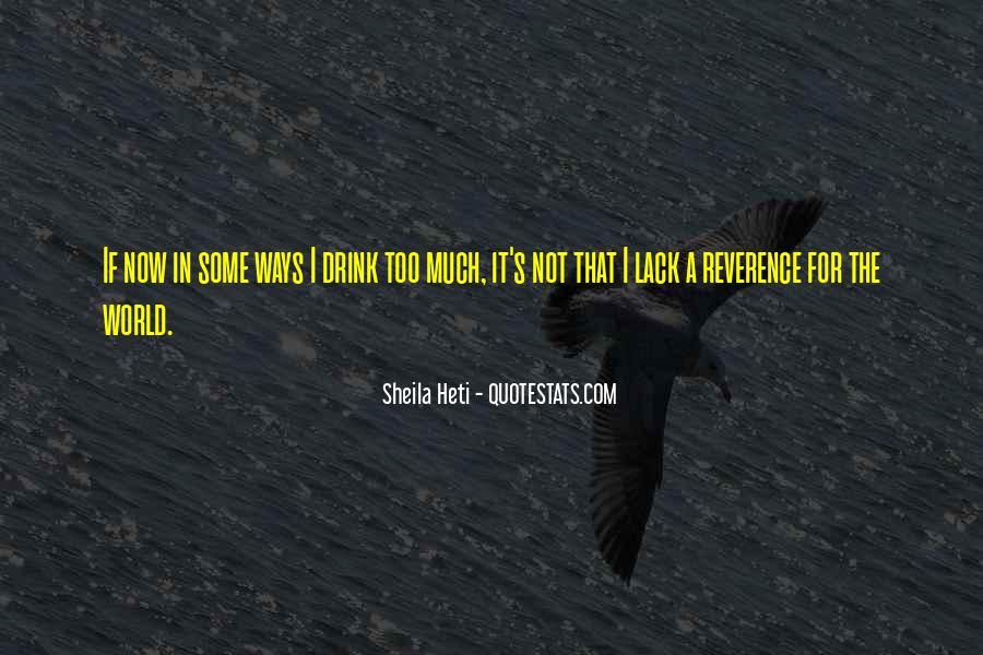 Sheila Heti Quotes #1337531