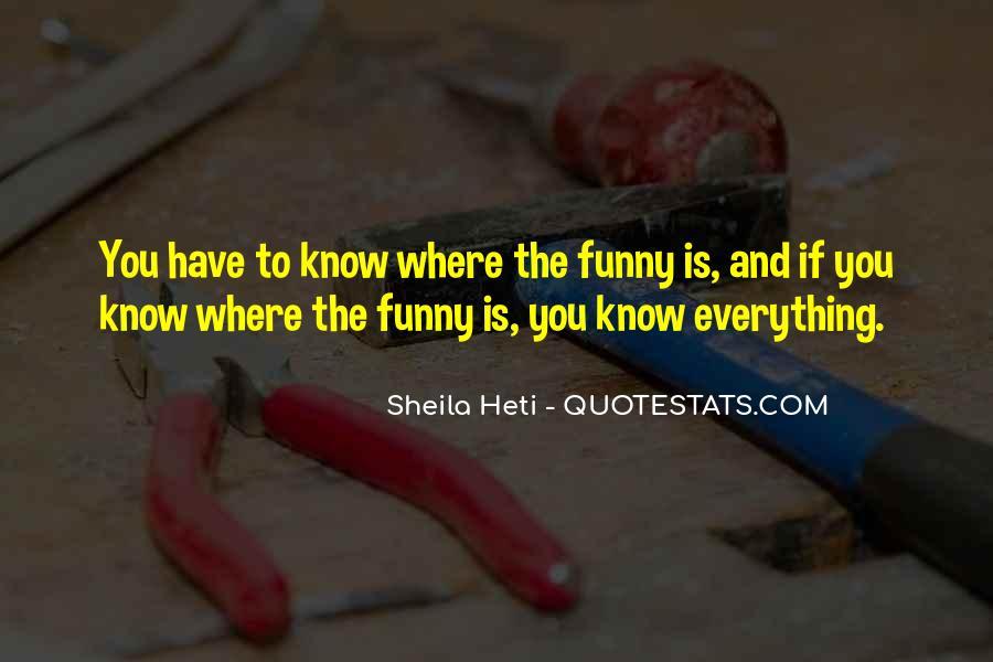 Sheila Heti Quotes #260435