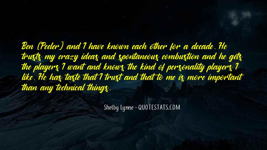 Shelby Lynne Quotes #1330719