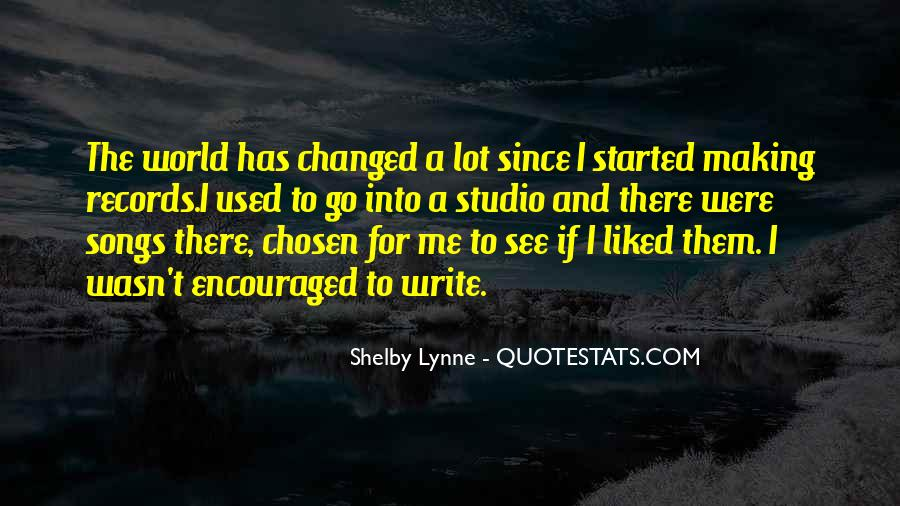 Shelby Lynne Quotes #605095