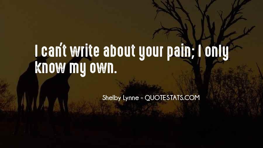 Shelby Lynne Quotes #918752