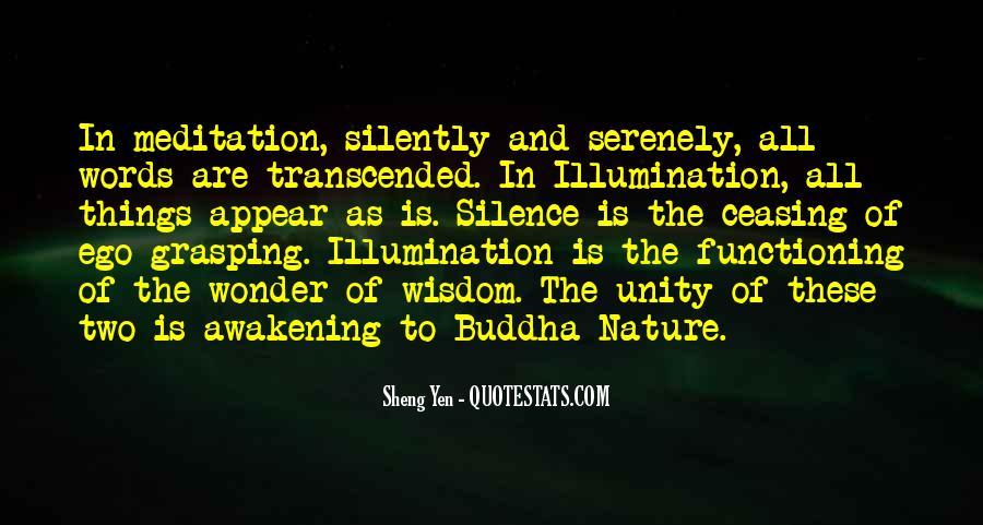 Sheng Yen Quotes #329728