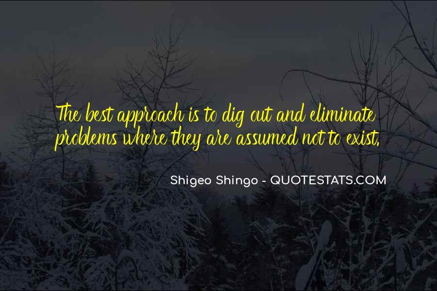 Shigeo Shingo Quotes #1580000