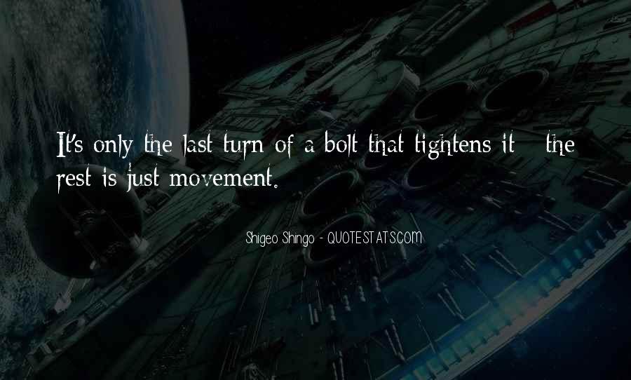 Shigeo Shingo Quotes #233247