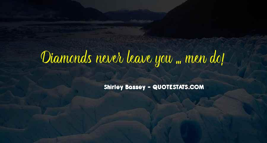 Shirley Bassey Quotes #1071291