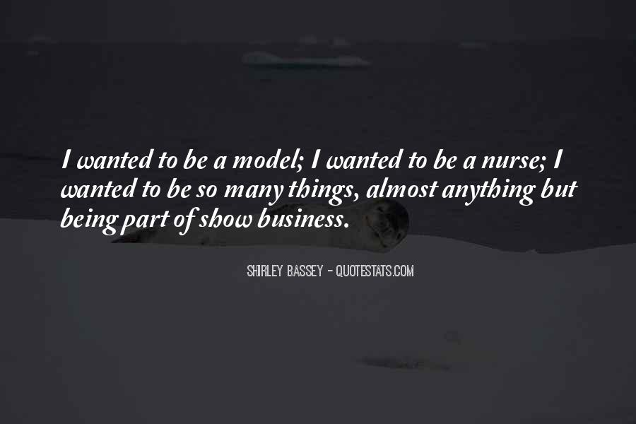 Shirley Bassey Quotes #1190324