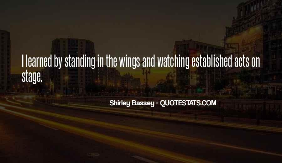 Shirley Bassey Quotes #1210624