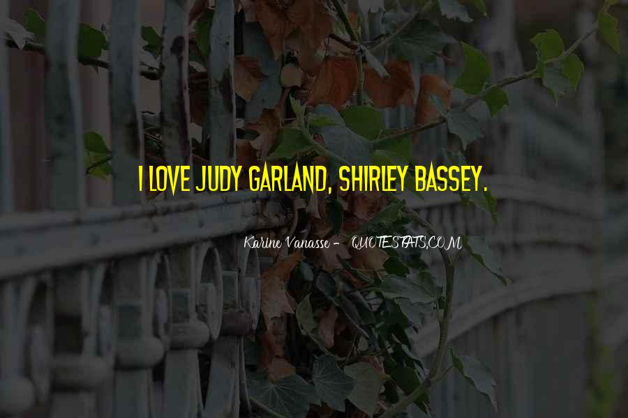 Shirley Bassey Quotes #1651111