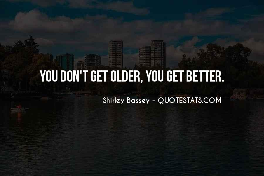 Shirley Bassey Quotes #652956