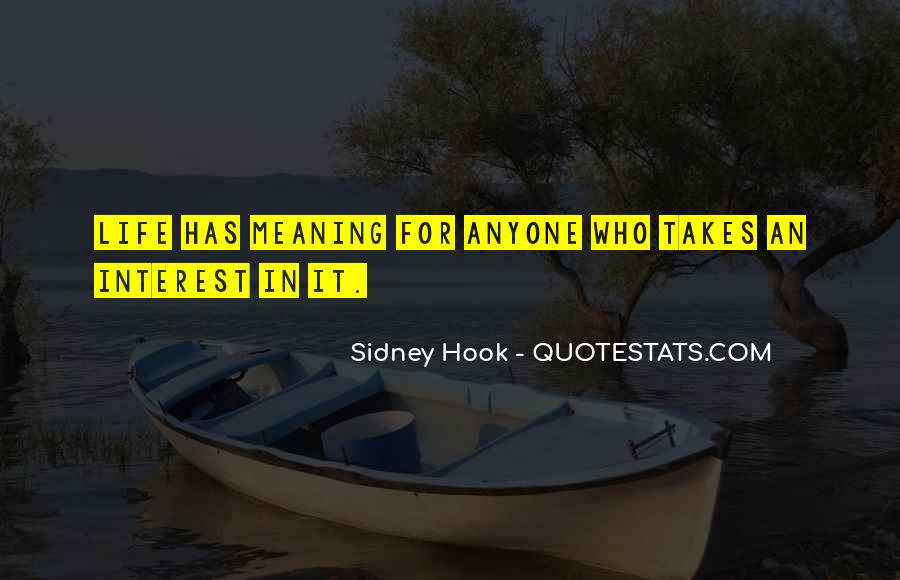 Sidney Hook Quotes #1683885