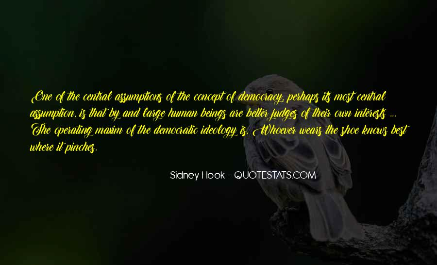 Sidney Hook Quotes #477131