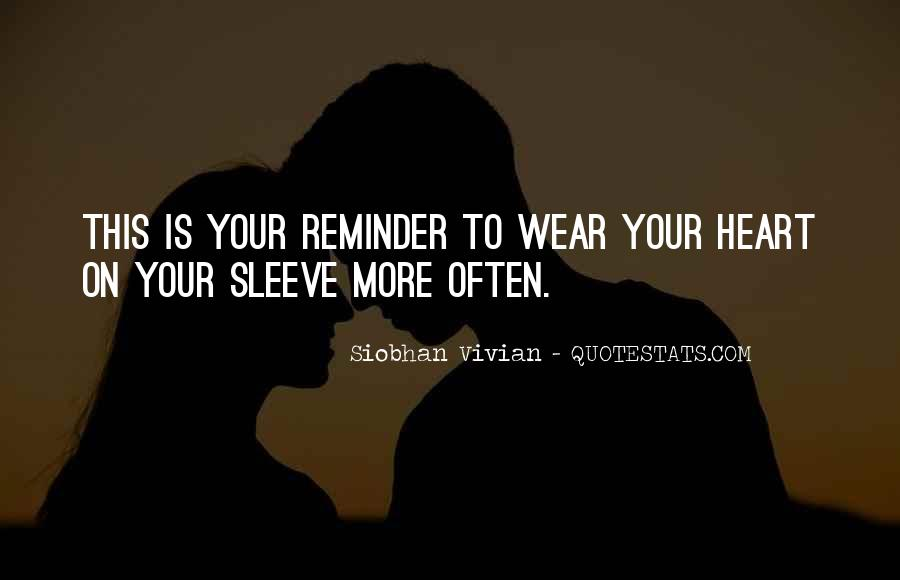 Siobhan Vivian Quotes #258166