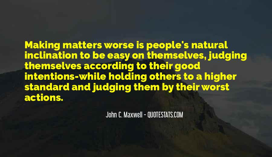 Quotes About Judging People's Actions #1251252