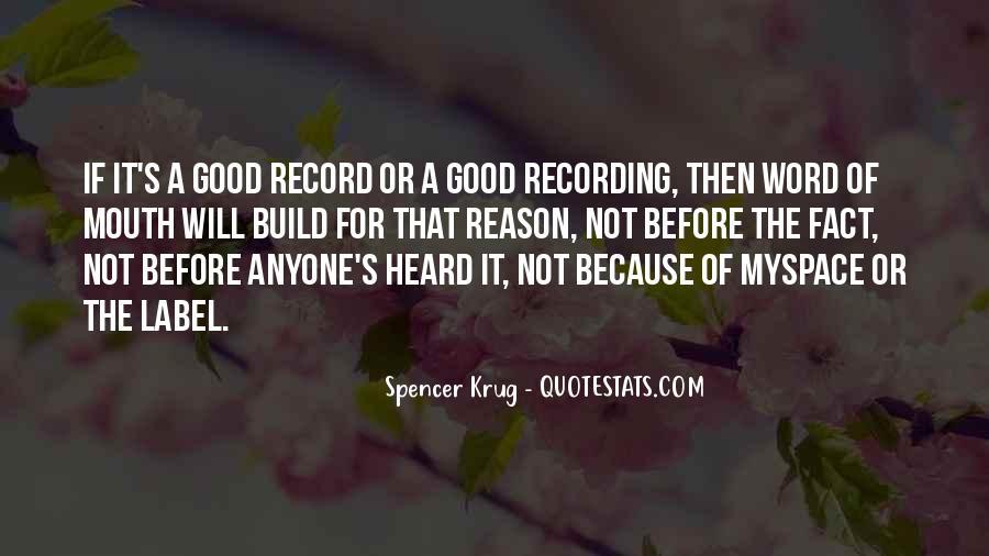Spencer Krug Quotes #93194