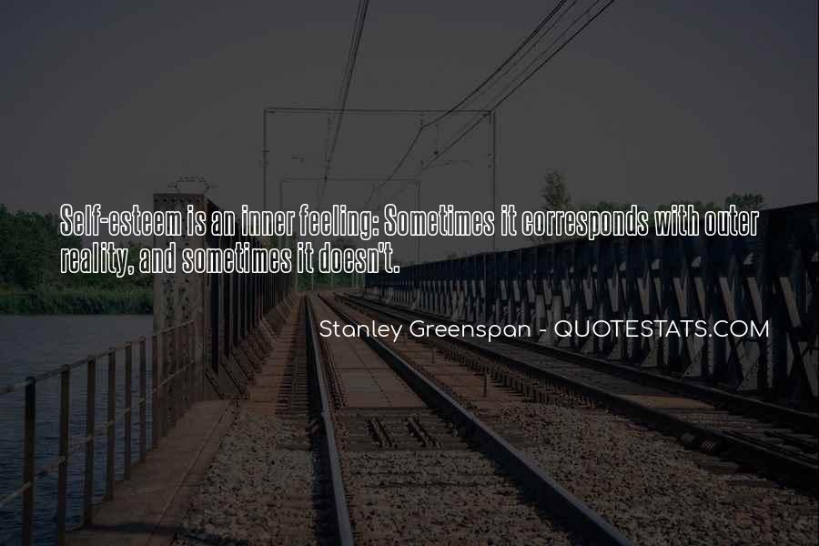 Stanley Greenspan Quotes #1748363