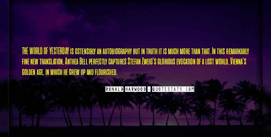 Stefan Zweig Quotes #205141