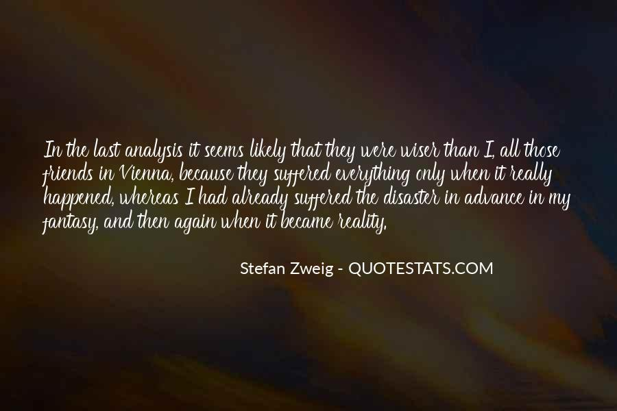 Stefan Zweig Quotes #244574