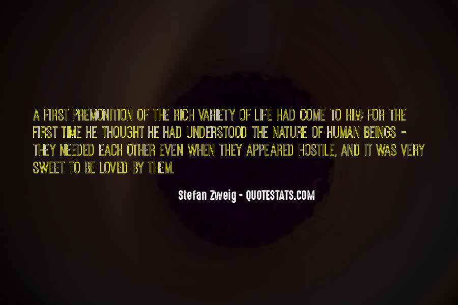 Stefan Zweig Quotes #308191