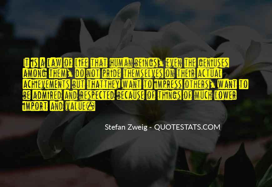 Stefan Zweig Quotes #317617