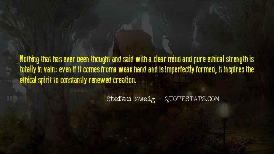 Stefan Zweig Quotes #317919