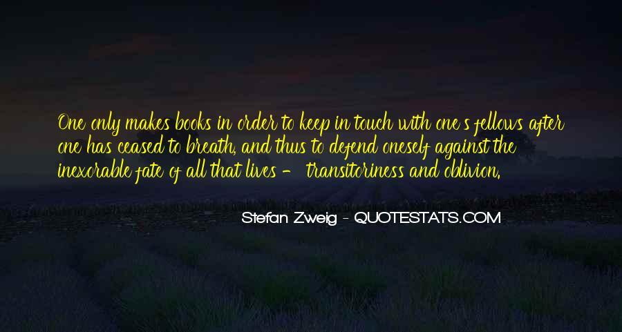 Stefan Zweig Quotes #376513