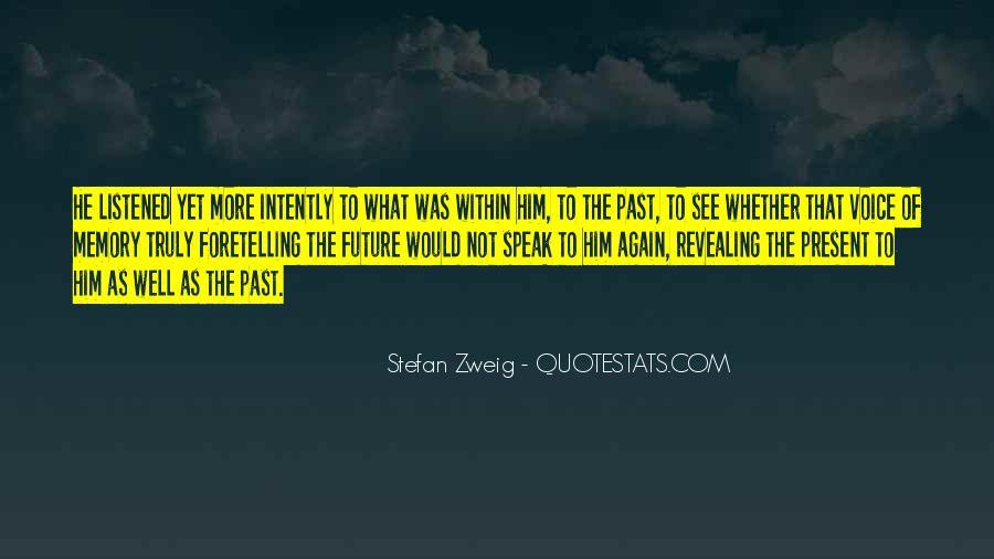 Stefan Zweig Quotes #609415