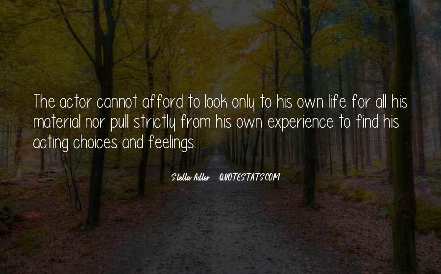 Stella Adler Quotes #1075654