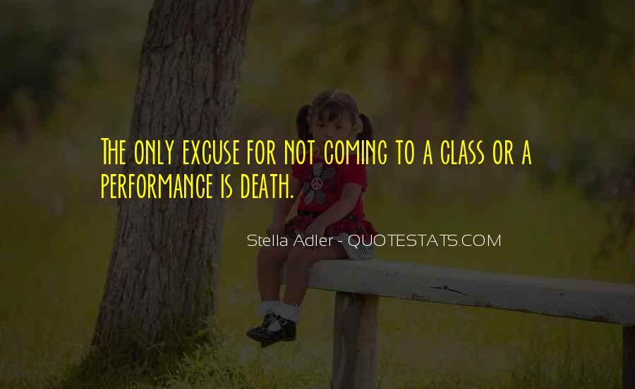 Stella Adler Quotes #1256721