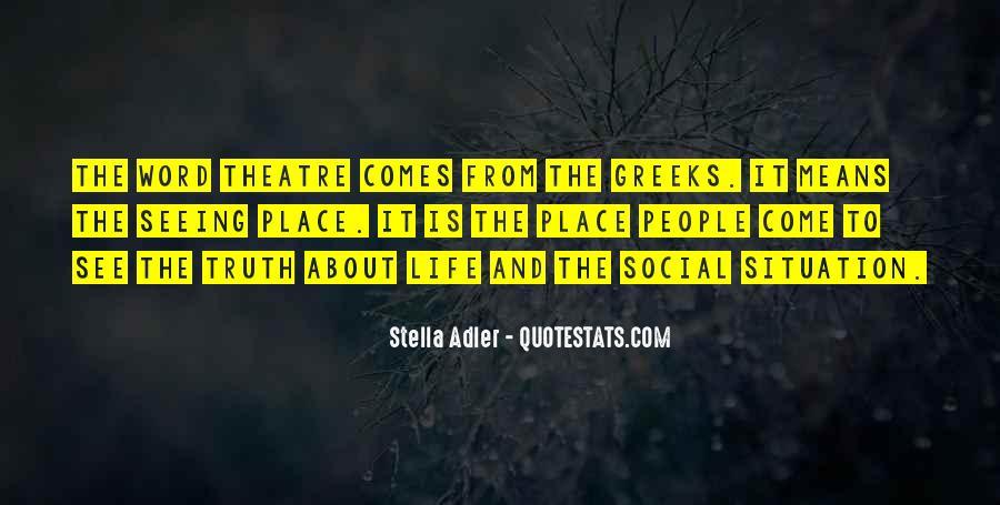 Stella Adler Quotes #1310199