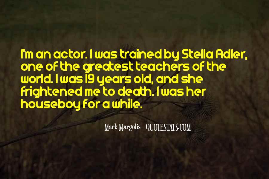 Stella Adler Quotes #1336583