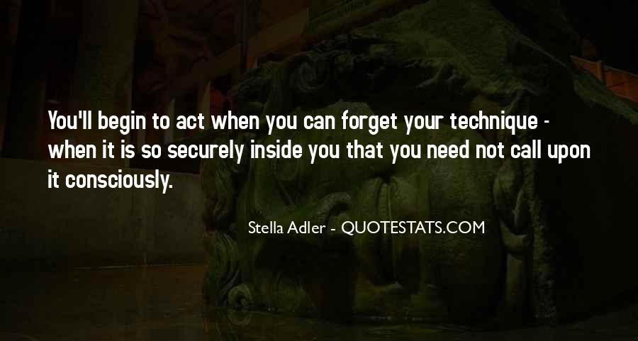 Stella Adler Quotes #1492592