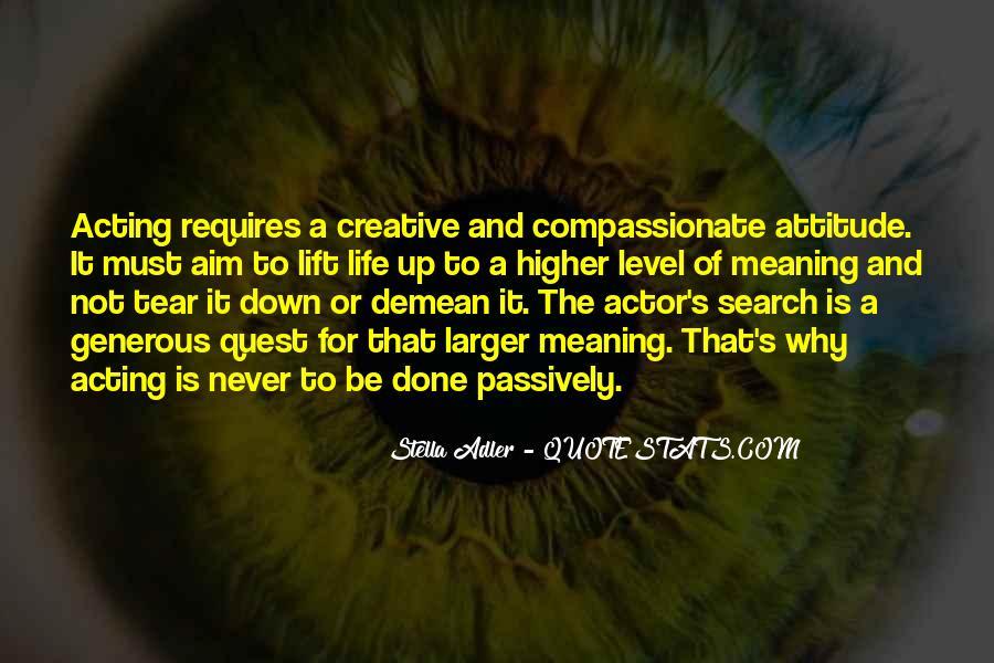 Stella Adler Quotes #1514793