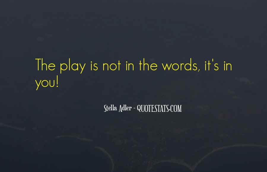 Stella Adler Quotes #1563587