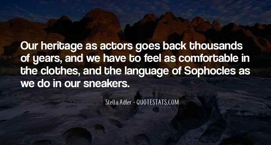 Stella Adler Quotes #1571794