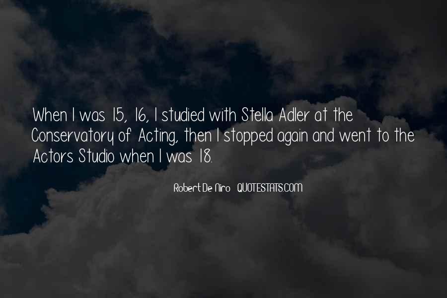 Stella Adler Quotes #1658010