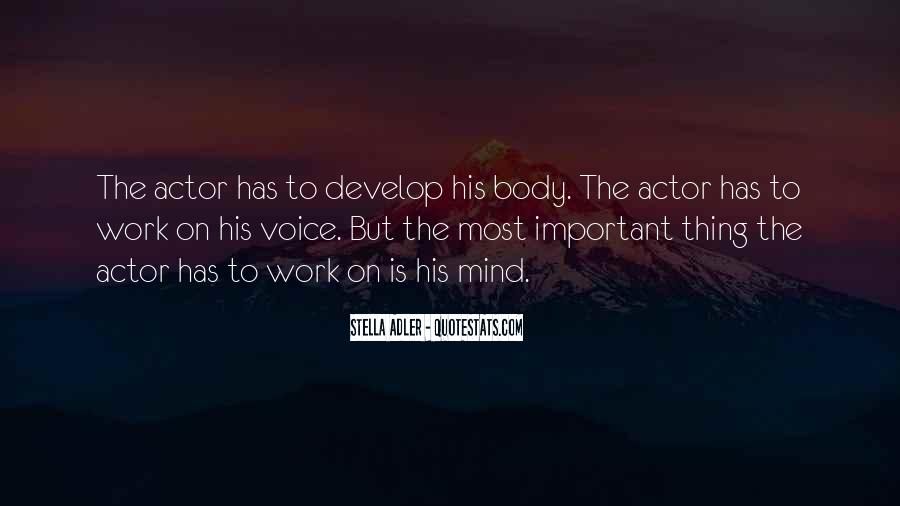 Stella Adler Quotes #1792968