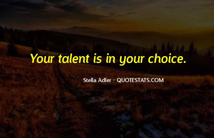 Stella Adler Quotes #180863