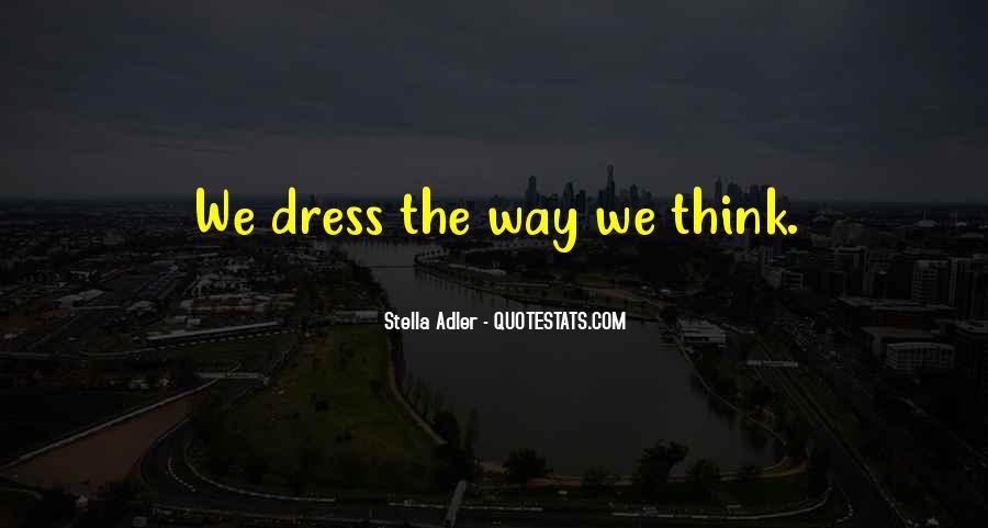 Stella Adler Quotes #1863225