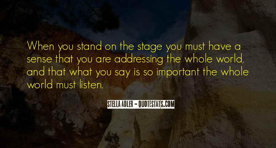 Stella Adler Quotes #293431